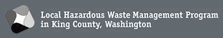 Local Hazardous Waste Management Program in King County Washington